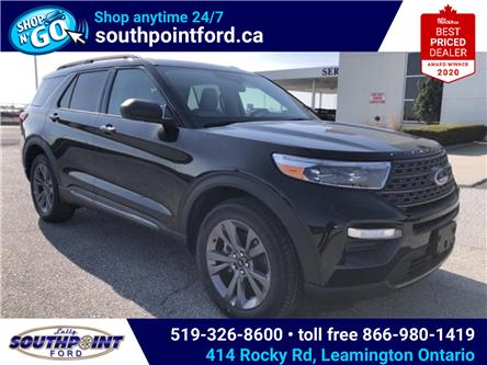 2021 Ford Explorer XLT (Stk: SEX6870) in Leamington - Image 1 of 24