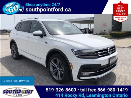 2020 Volkswagen Tiguan Highline (Stk: S10640R) in Leamington - Image 1 of 27