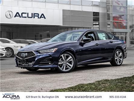 2021 Acura TLX Platinum Elite (Stk: 21075) in Burlington - Image 1 of 30