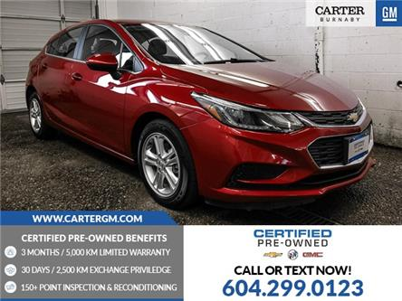 2018 Chevrolet Cruze LT Auto (Stk: P9-64090) in Burnaby - Image 1 of 23
