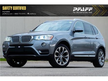 2017 BMW X3 xDrive28i (Stk: U6438) in Mississauga - Image 1 of 15