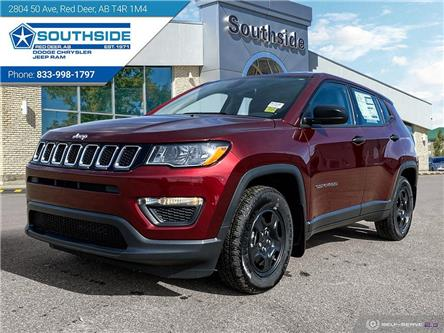 2021 Jeep Compass Sport (Stk: JC2110) in Red Deer - Image 1 of 25