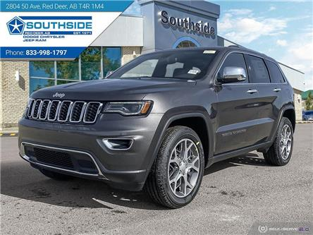 2021 Jeep Grand Cherokee Limited (Stk: GC2128) in Red Deer - Image 1 of 25