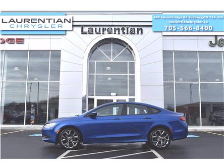2016 Chrysler 200 S (Stk: P0206) in Sudbury - Image 1 of 27