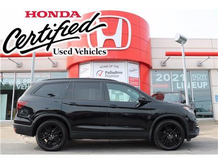 2019 Honda Pilot Black Edition (Stk: U9800) in Sudbury - Image 1 of 40