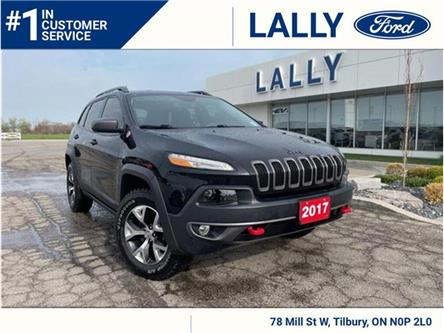 2017 Jeep Cherokee Trailhawk (Stk: 27531A) in Tilbury - Image 1 of 19