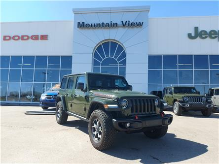 2021 Jeep Wrangler Unlimited Rubicon (Stk: AM062) in Olds - Image 1 of 27