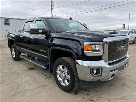 2018 GMC Sierra 3500HD SLT (Stk: 21U137) in Wilkie - Image 1 of 23