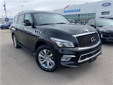 2016 Infiniti QX80 Limited 7 Passenger (Stk: M-817A) in Calgary - Image 1 of 26