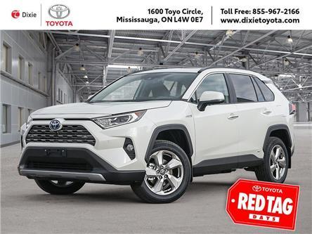 2021 Toyota RAV4 Hybrid Limited (Stk: D211134) in Mississauga - Image 1 of 10