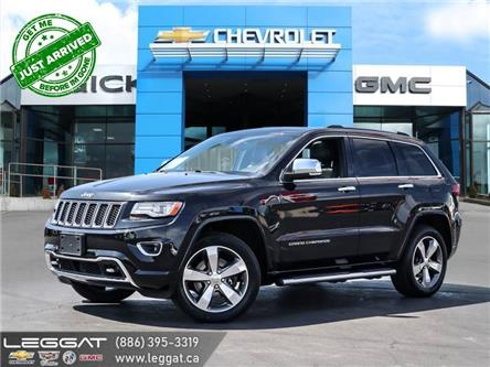 2014 Jeep Grand Cherokee Overland (Stk: 6335B) in Burlington - Image 1 of 27