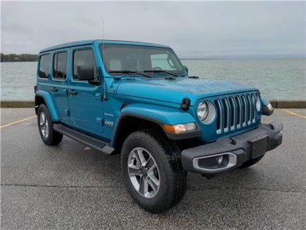 2020 Jeep Wrangler Unlimited Sahara (Stk: D0372) in Belle River - Image 1 of 16