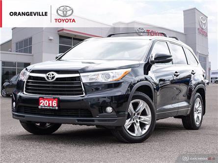 2016 Toyota Highlander Limited (Stk: HU5157) in Orangeville - Image 1 of 26