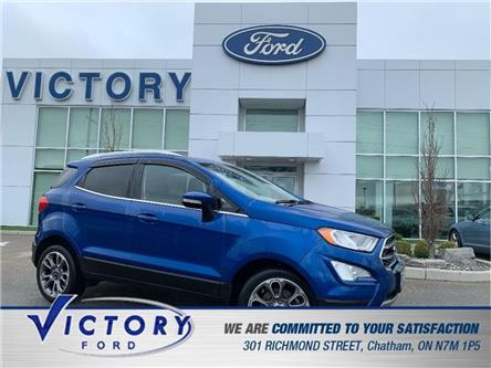 2018 Ford EcoSport Titanium (Stk: V20123A) in Chatham - Image 1 of 29