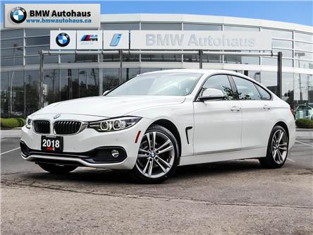 2018 BMW 430i xDrive Gran Coupe (Stk: P10327) in Thornhill - Image 1 of 38