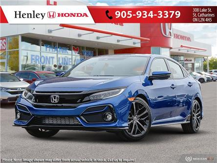 2021 Honda Civic Sport Touring (Stk: H19600) in St. Catharines - Image 1 of 23