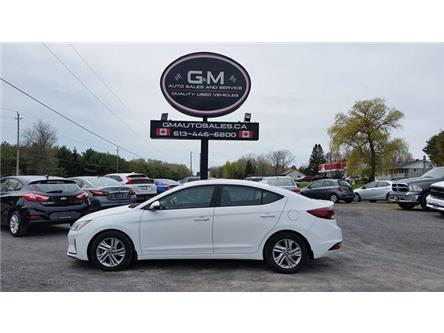 2019 Hyundai Elantra Preferred (Stk: KU768607) in Rockland - Image 1 of 12