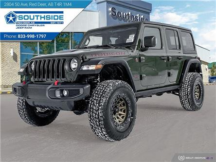 2021 Jeep Wrangler Unlimited Rubicon (Stk: WR2103) in Red Deer - Image 1 of 25