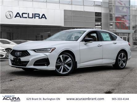 2021 Acura TLX Platinum Elite (Stk: 21143) in Burlington - Image 1 of 30