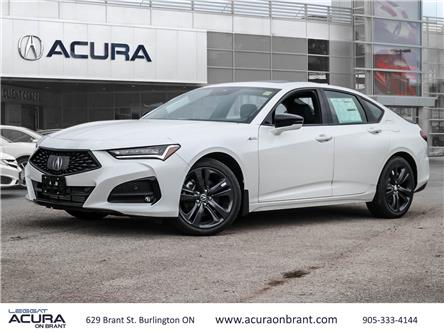2021 Acura TLX A-Spec (Stk: 21168) in Burlington - Image 1 of 30