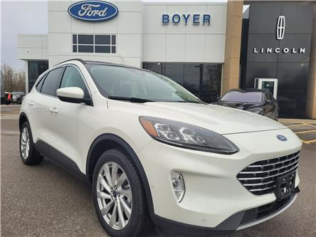 2021 Ford Escape Titanium Hybrid (Stk: ES3193) in Bobcaygeon - Image 1 of 26