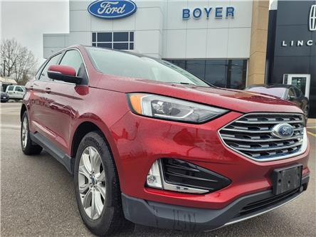 2019 Ford Edge Titanium (Stk: L3180A) in Bobcaygeon - Image 1 of 26