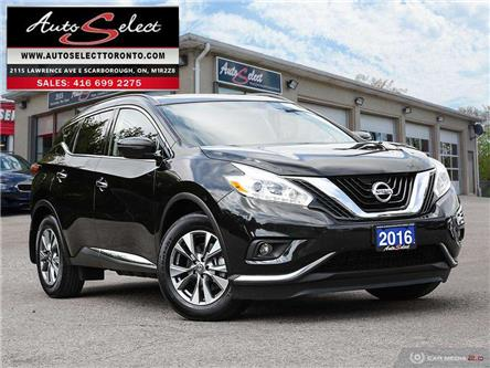 2016 Nissan Murano SV (Stk: 1QX1MO9) in Scarborough - Image 1 of 28