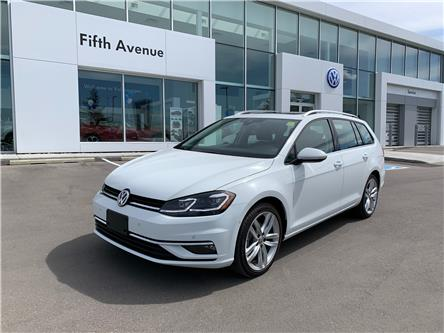 2019 Volkswagen Golf SportWagen 1.8 TSI Execline (Stk: 3625) in Calgary - Image 1 of 18