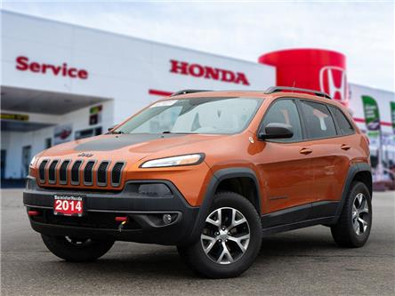 2014 Jeep Cherokee Trailhawk (Stk: P21-038) in Vernon - Image 1 of 20
