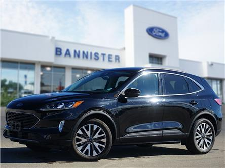 2020 Ford Escape Titanium (Stk: PA2102) in Dawson Creek - Image 1 of 18