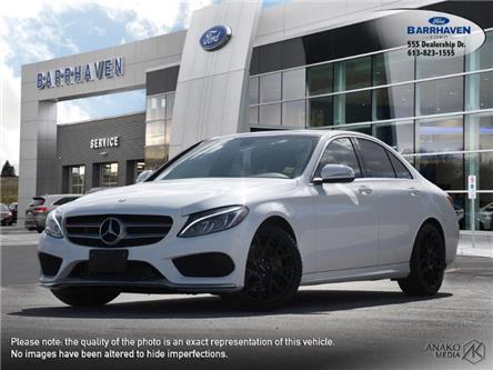 2015 Mercedes-Benz C-Class Base (Stk: 21-270A) in Barrhaven - Image 1 of 27