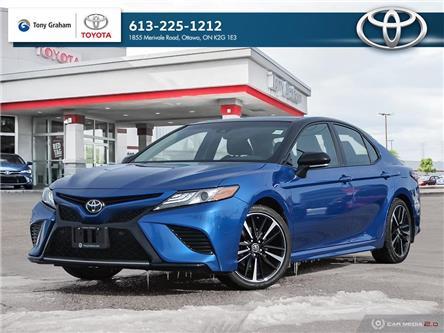 2018 Toyota Camry XSE (Stk: E8513) in Ottawa - Image 1 of 30