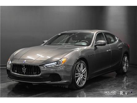 2017 Maserati Ghibli S Q4 3.0L (Stk: M2036A) in Montréal - Image 1 of 8