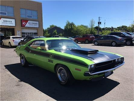 1971 Dodge Challenger CLONED AS A 1970 TA (Stk: 16P103) in Kingston - Image 1 of 17