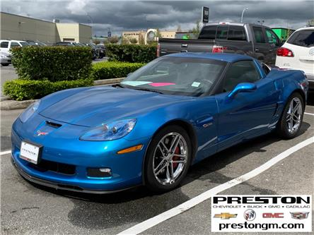 2008 Chevrolet Corvette Z06 Fixed Roof (Stk: 1203011) in Langley City - Image 1 of 3