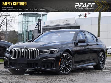 2020 BMW 750i xDrive (Stk: F39840D) in Markham - Image 1 of 28