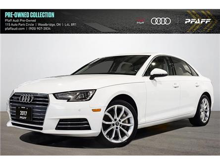 2017 Audi A4 2.0T Progressiv (Stk: C8332) in Woodbridge - Image 1 of 22
