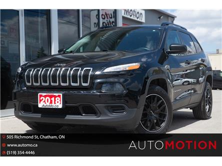 2018 Jeep Cherokee Sport (Stk: 21705) in Chatham - Image 1 of 19