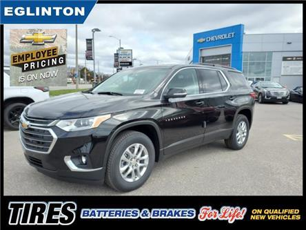2021 Chevrolet Traverse LT Cloth (Stk: MJ204803) in Mississauga - Image 1 of 19