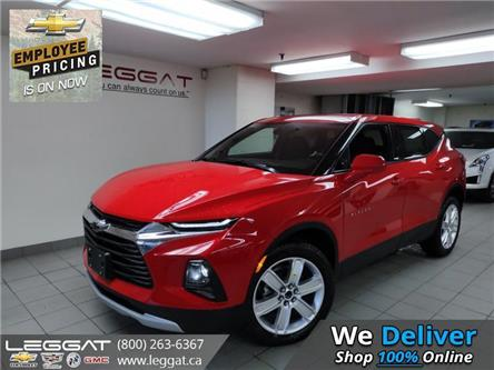2021 Chevrolet Blazer LT (Stk: 217087) in Burlington - Image 1 of 10