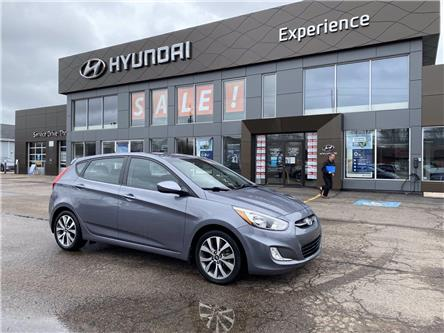 2017 Hyundai Accent SE (Stk: N1256A) in Charlottetown - Image 1 of 9