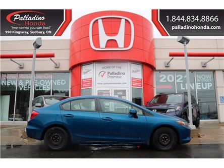 2012 Honda Civic LX (Stk: 22966W) in Sudbury - Image 1 of 22