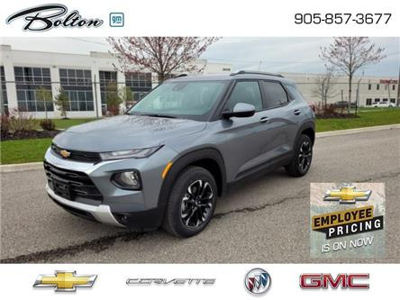 2021 Chevrolet TrailBlazer LT (Stk: MB096329) in Bolton - Image 1 of 15