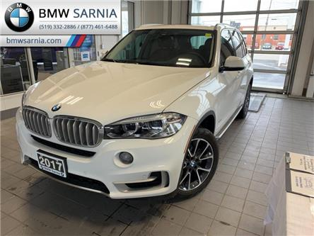 2017 BMW X5 xDrive35i (Stk: XU403) in Sarnia - Image 1 of 10