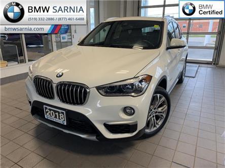 2018 BMW X1 xDrive28i (Stk: XU406) in Sarnia - Image 1 of 10