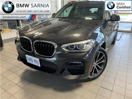 2021 BMW X3 xDrive30i (Stk: XU409) in Sarnia - Image 1 of 10