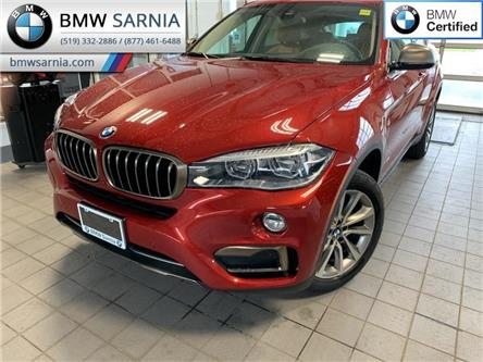 2018 BMW X6 xDrive35i (Stk: XU412) in Sarnia - Image 1 of 10