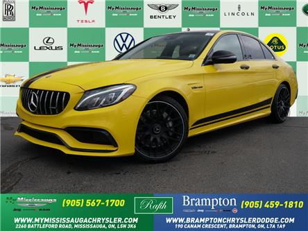 2018 Mercedes-Benz AMG C 63 Base (Stk: 1463) in Mississauga - Image 1 of 27