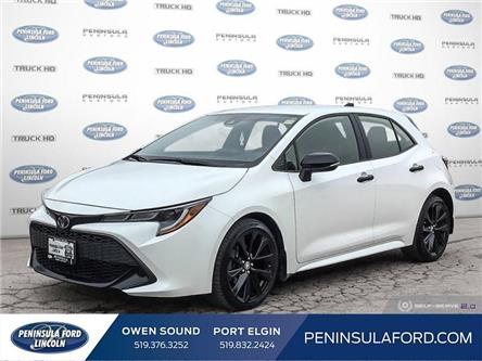 2020 Toyota Corolla Hatchback Base (Stk: 20MU11A) in Owen Sound - Image 1 of 25