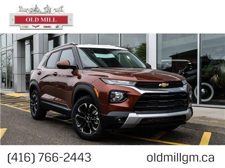 2021 Chevrolet TrailBlazer LT (Stk: MB150275) in Toronto - Image 1 of 21